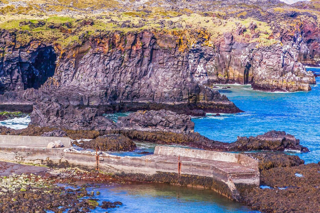冰岛Arnarstapi,海边的悬崖_图1-15