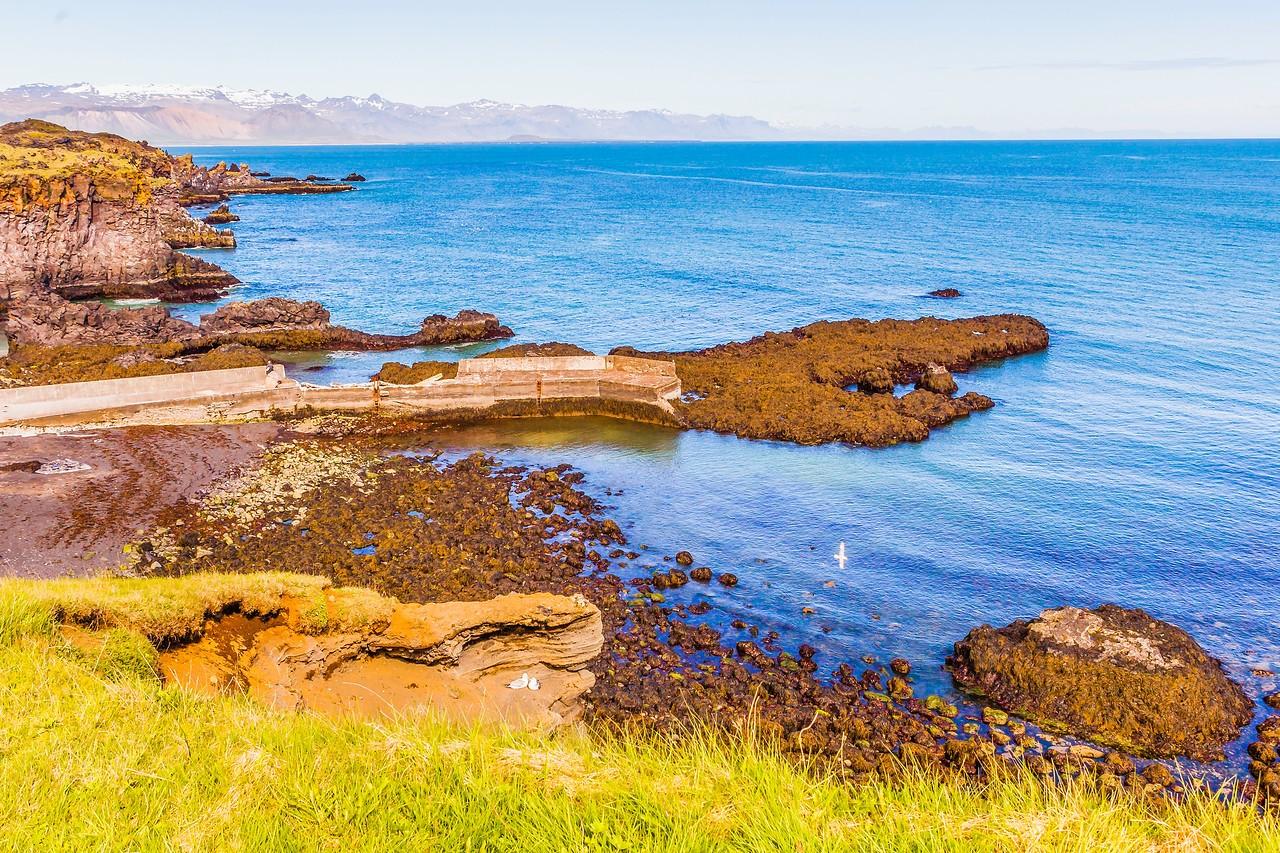 冰岛Arnarstapi,海边的悬崖_图1-16