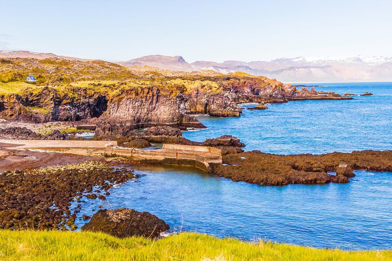 冰岛Arnarstapi,海边的悬崖_图1-20