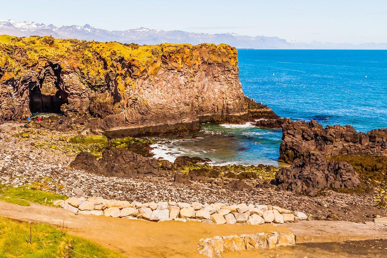 冰岛Arnarstapi,海边的悬崖_图1-17