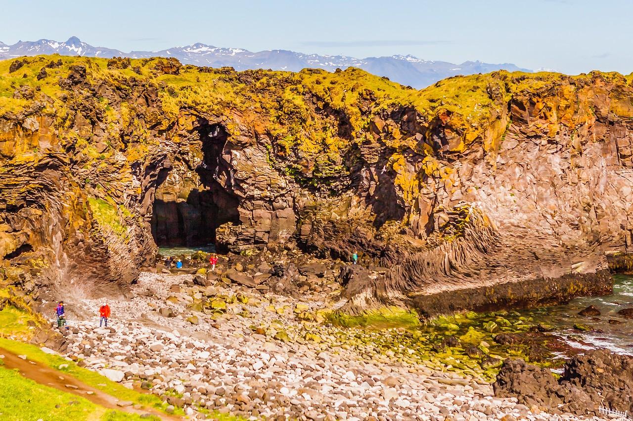 冰岛Arnarstapi,海边的悬崖_图1-22