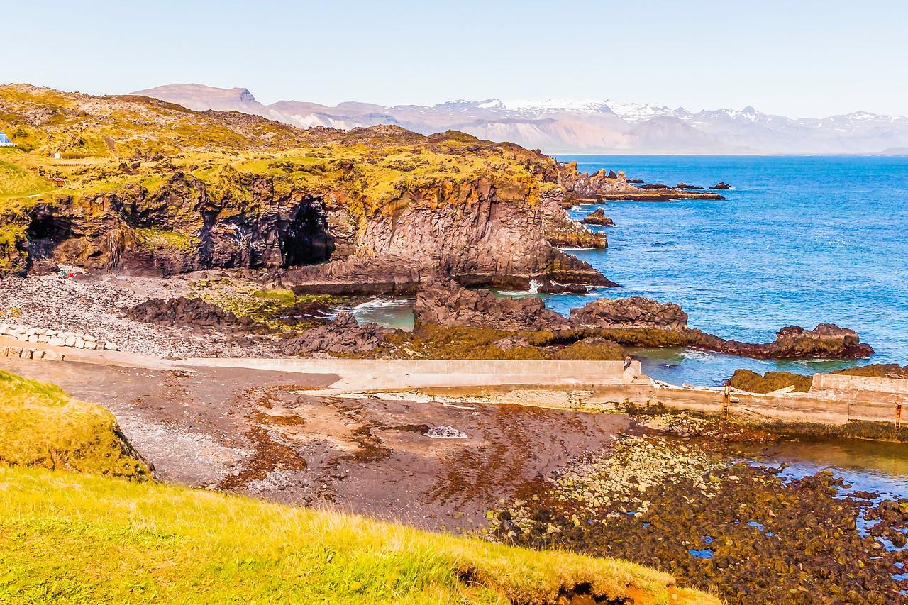 冰岛Arnarstapi,海边的悬崖_图1-24