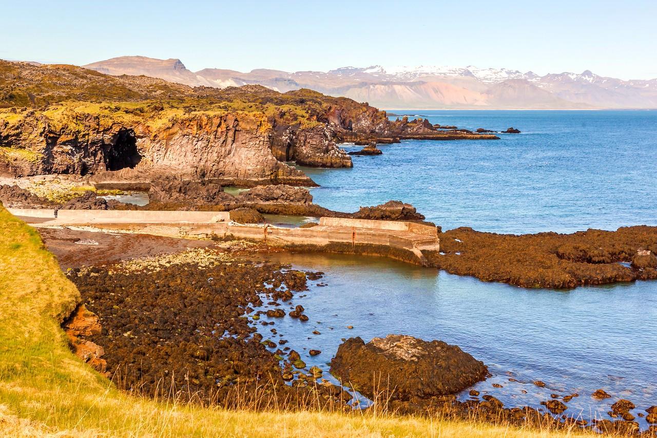 冰岛Arnarstapi,海边的悬崖_图1-25