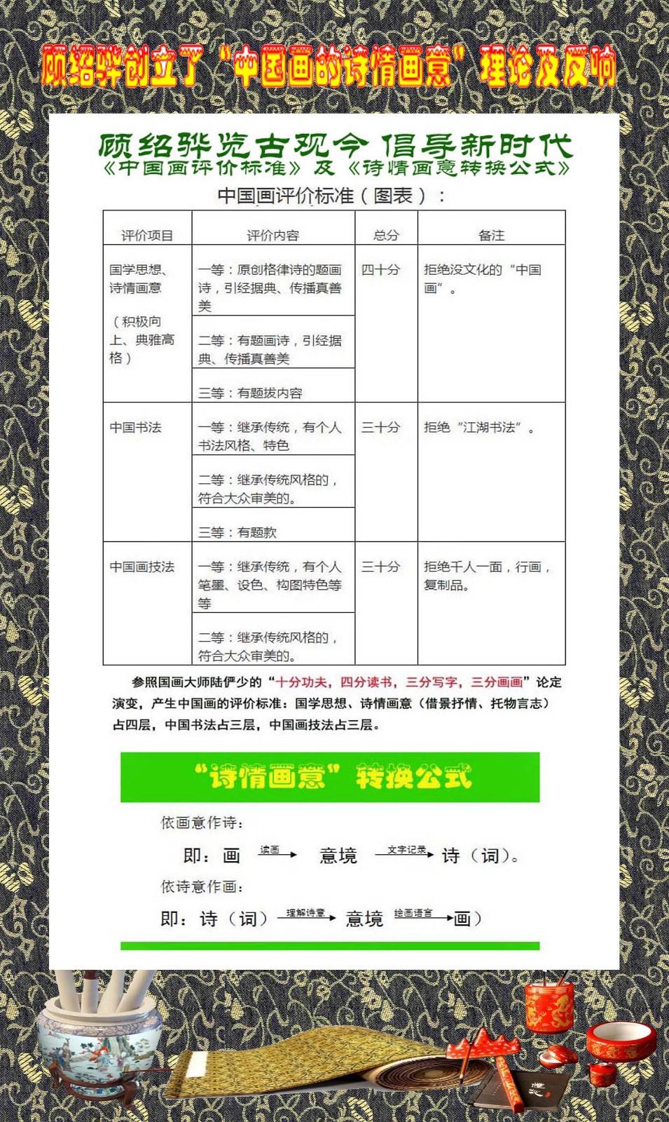 顾绍骅在中国画方面作出的一点贡献_图1-3