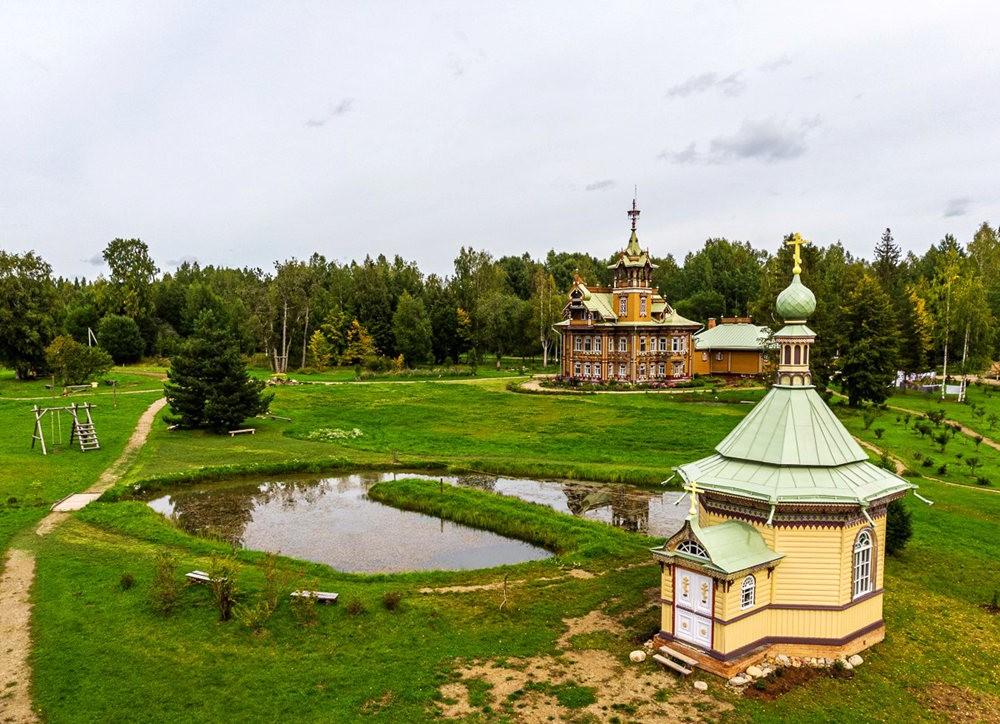 阿斯塔霍沃宫--俄罗斯最美的木制房屋_图1-6