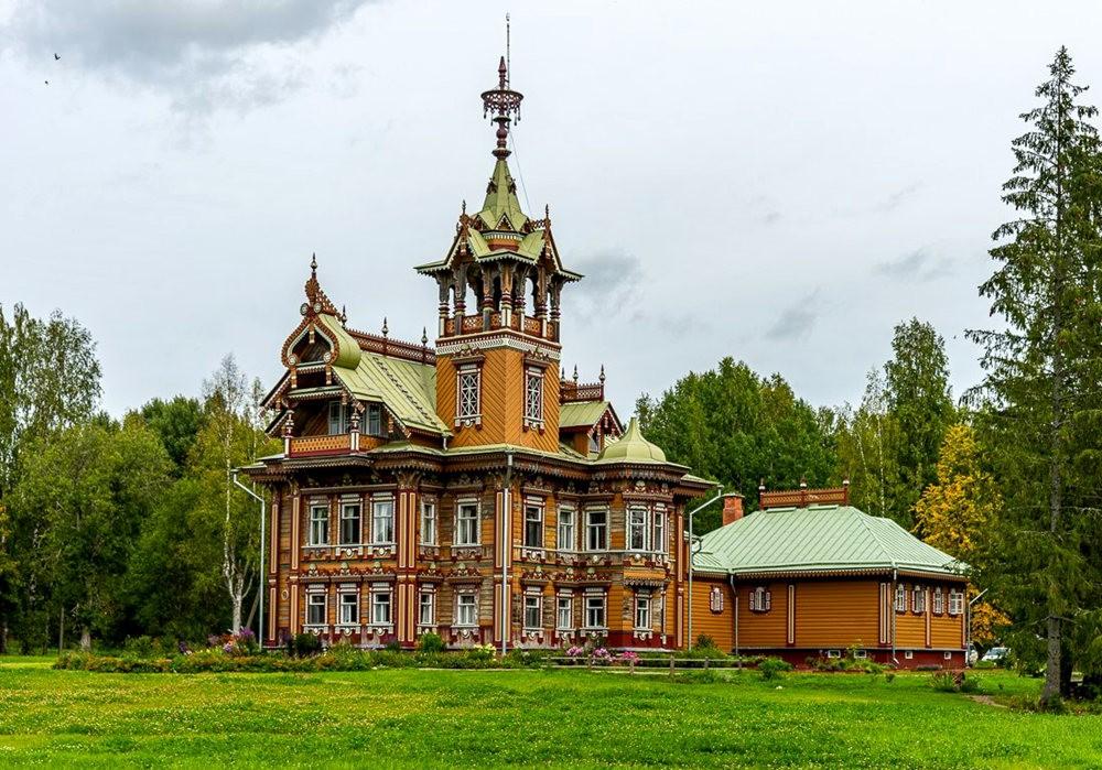 阿斯塔霍沃宫--俄罗斯最美的木制房屋_图1-7