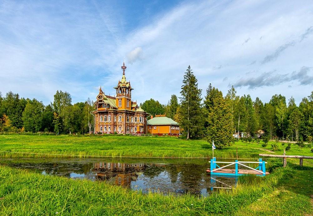 阿斯塔霍沃宫--俄罗斯最美的木制房屋_图1-8