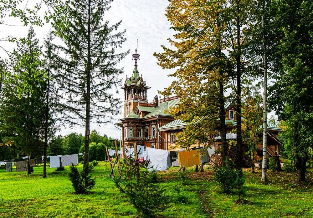 阿斯塔霍沃宫--俄罗斯最美的木制房屋_图1-9