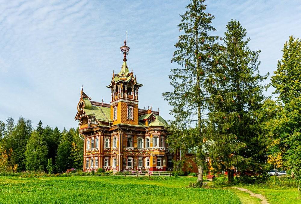 阿斯塔霍沃宫--俄罗斯最美的木制房屋_图1-18