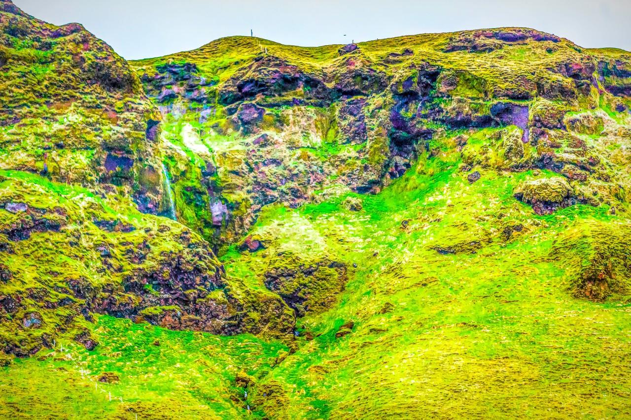 冰岛风采,山壁瀑布_图1-35