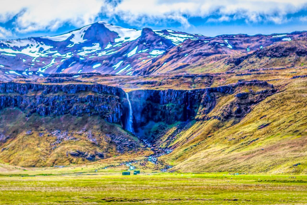 冰岛风采,山壁瀑布_图1-34