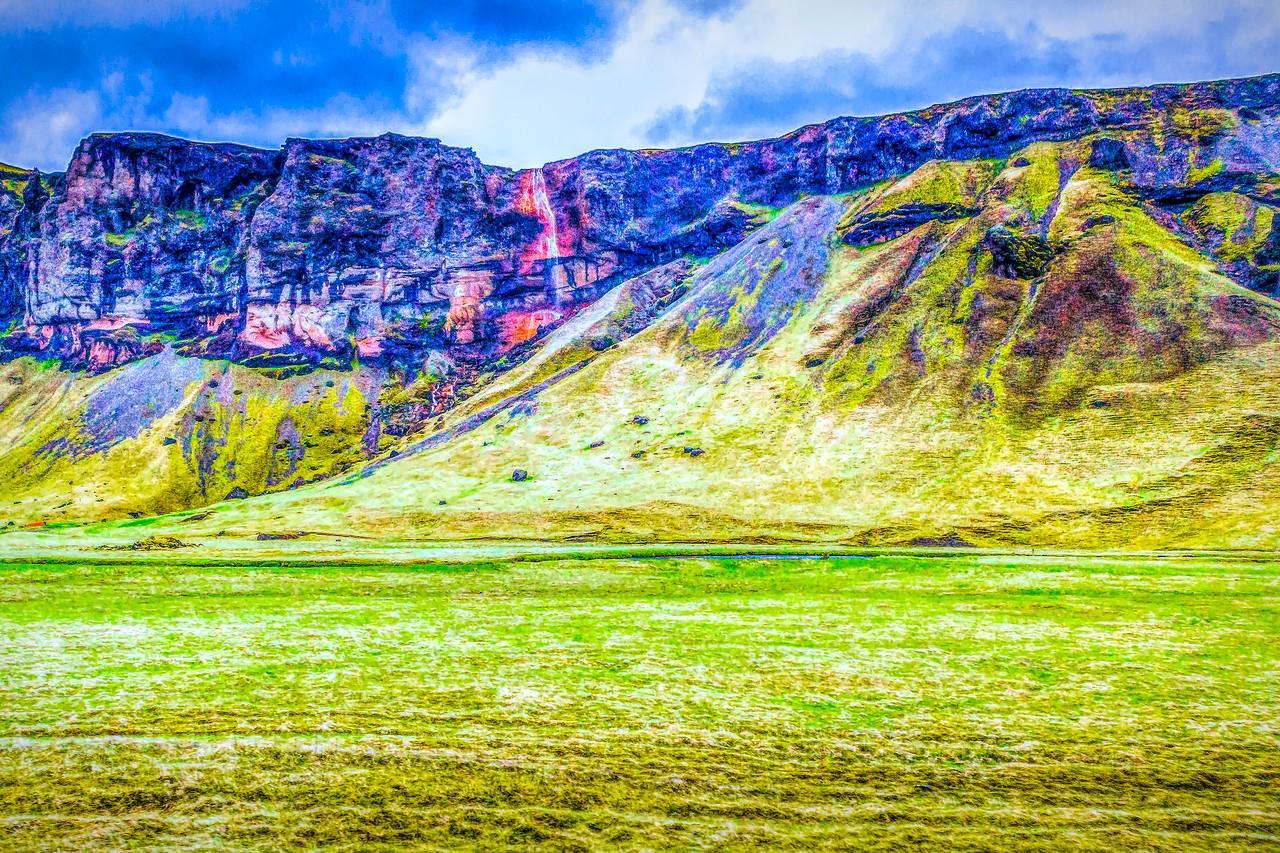 冰岛风采,山壁瀑布_图1-33