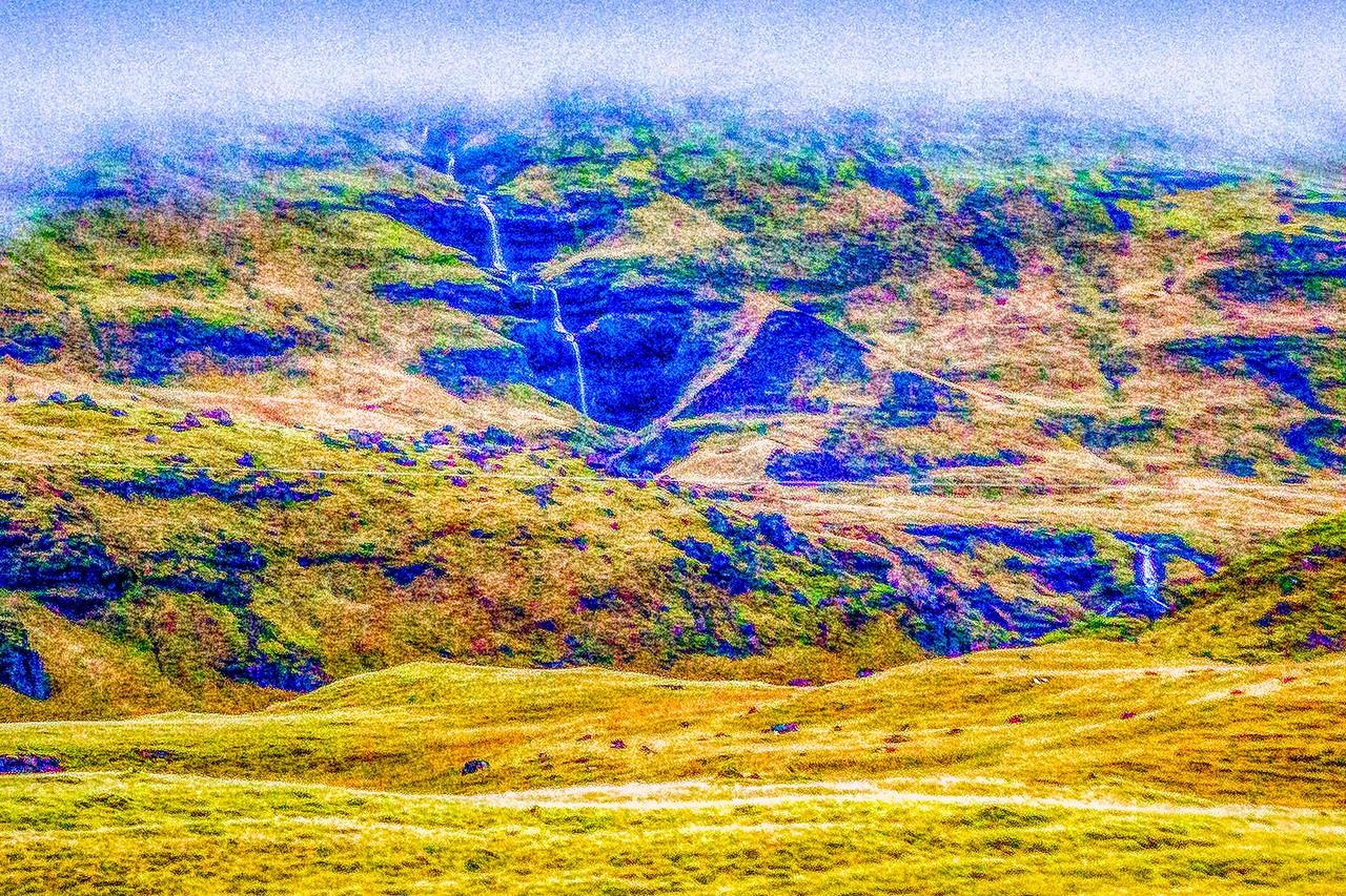 冰岛风采,山壁瀑布_图1-29