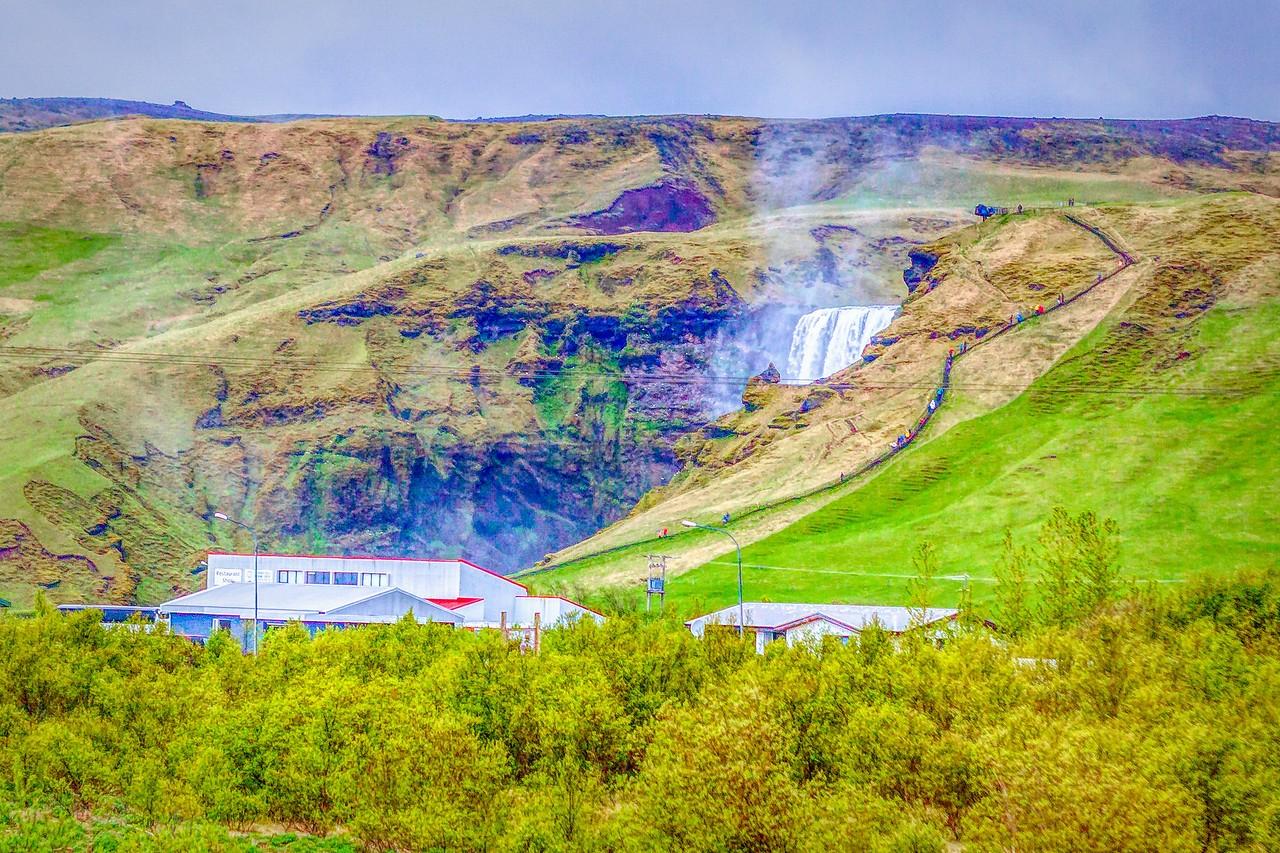 冰岛风采,山壁瀑布_图1-30