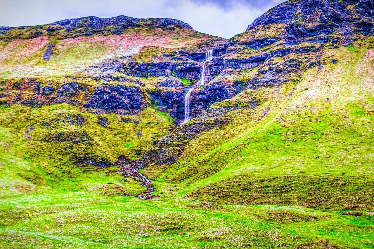 冰岛风采,山壁瀑布_图1-32