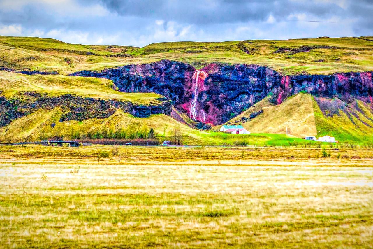 冰岛风采,山壁瀑布_图1-31