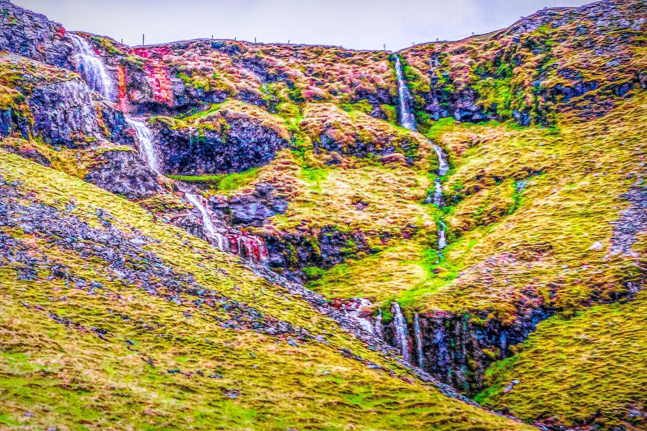 冰岛风采,山壁瀑布_图1-28