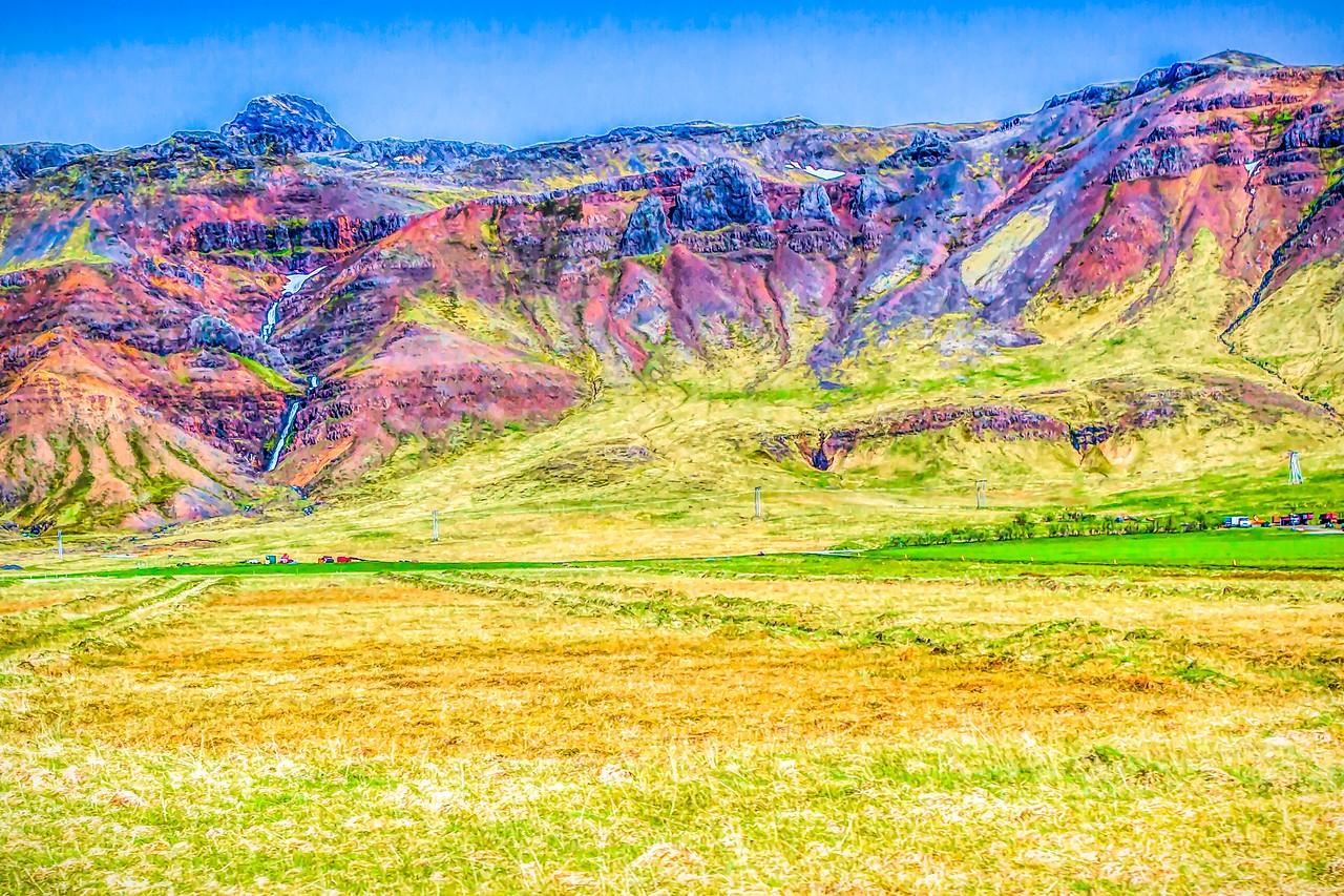 冰岛风采,山壁瀑布_图1-26