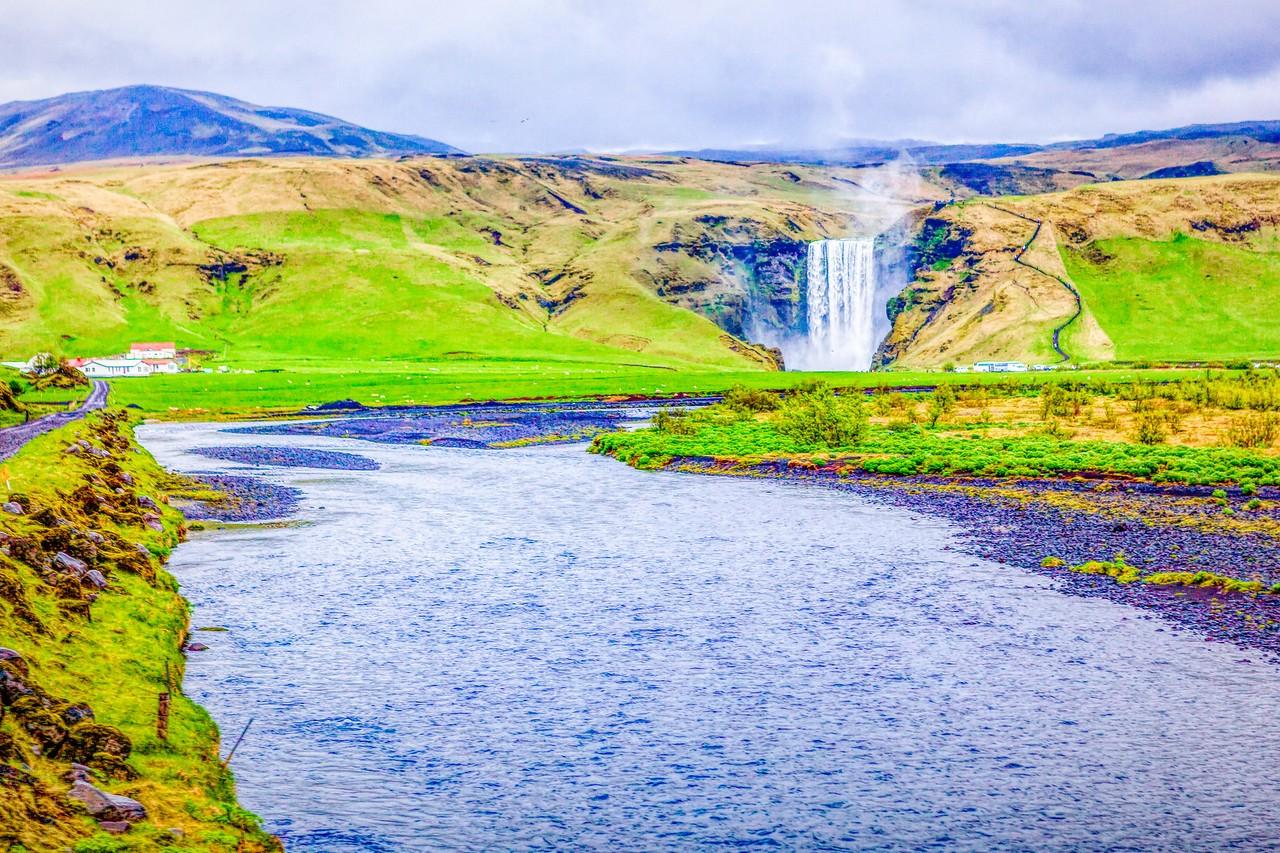 冰岛风采,山壁瀑布_图1-22