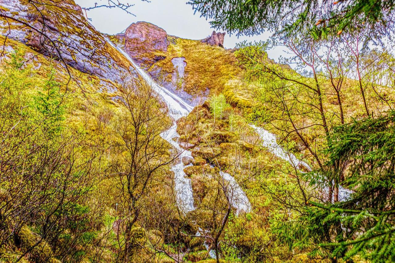 冰岛风采,山壁瀑布_图1-24