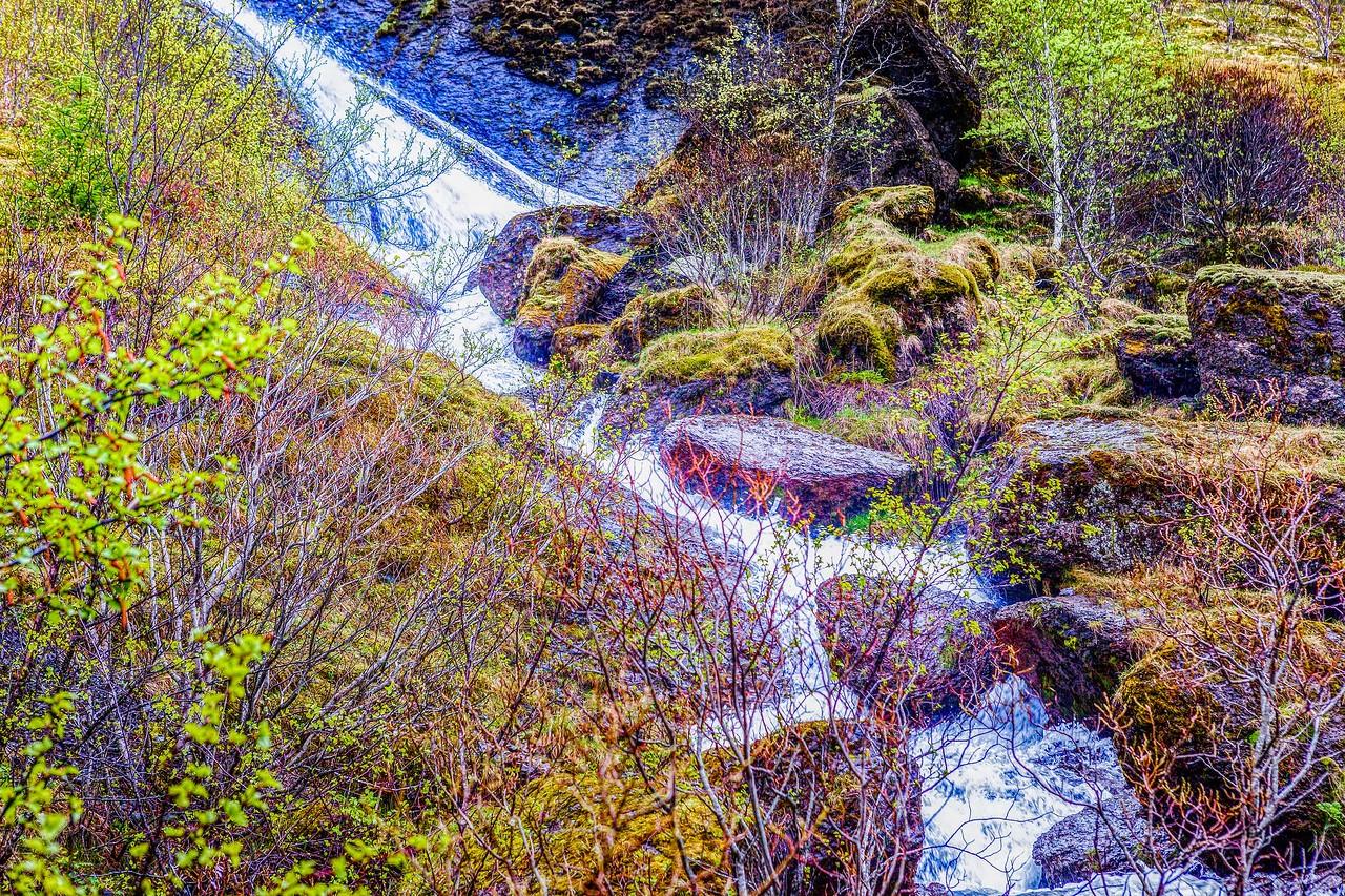 冰岛风采,山壁瀑布_图1-20