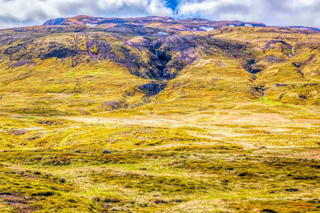 冰岛风采,山壁瀑布_图1-18