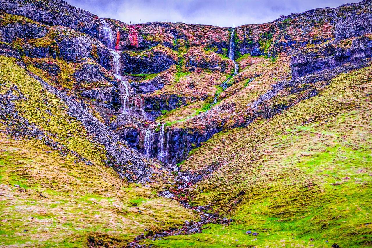 冰岛风采,山壁瀑布_图1-17