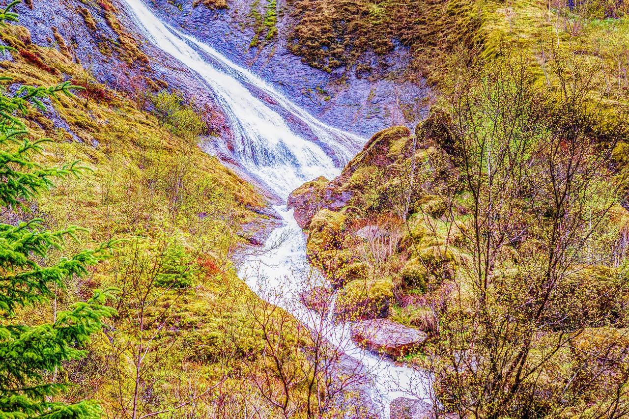 冰岛风采,山壁瀑布_图1-13