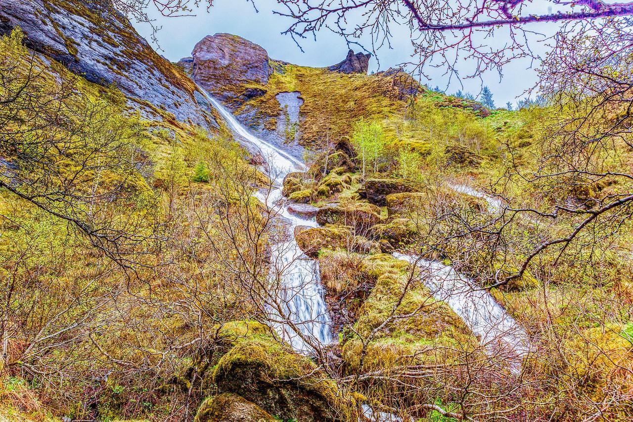 冰岛风采,山壁瀑布_图1-16