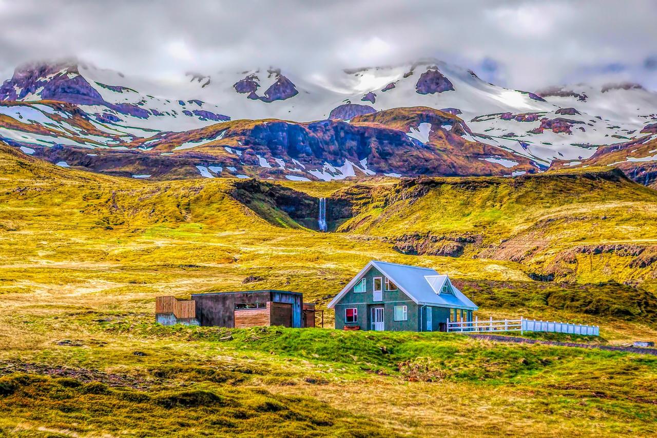 冰岛风采,山壁瀑布_图1-14
