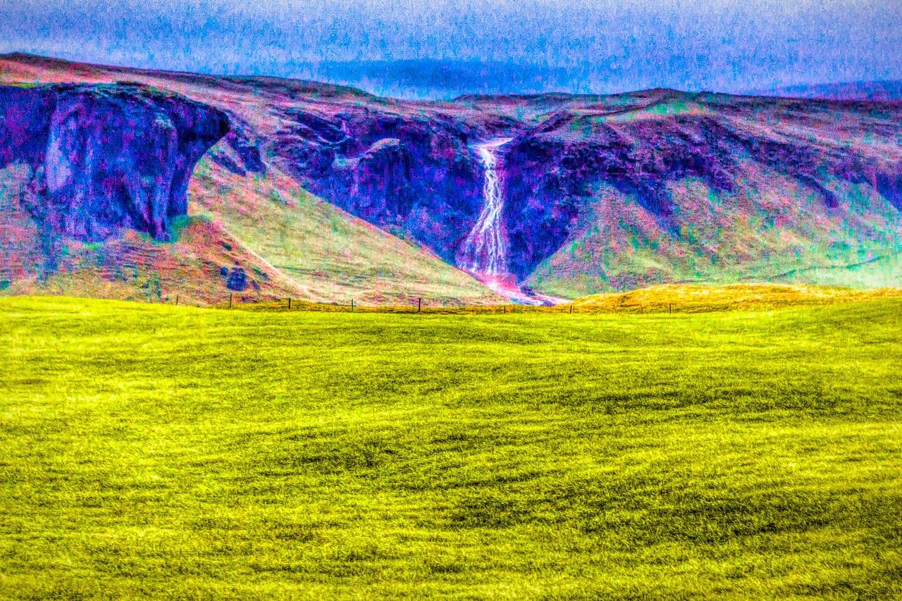 冰岛风采,山壁瀑布_图1-15
