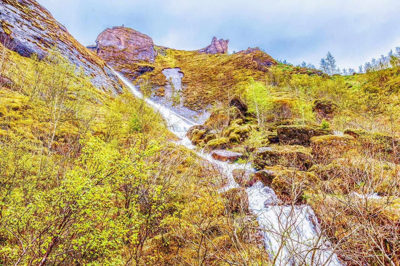 冰岛风采,山壁瀑布_图1-4