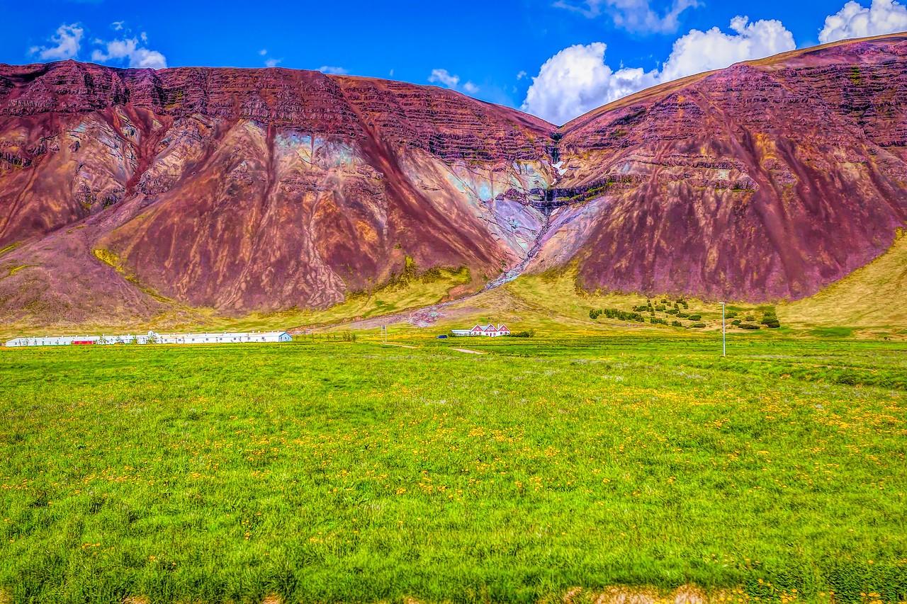 冰岛风采,山壁瀑布_图1-2