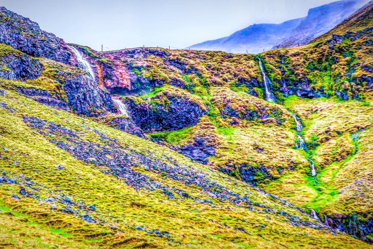 冰岛风采,山壁瀑布_图1-5