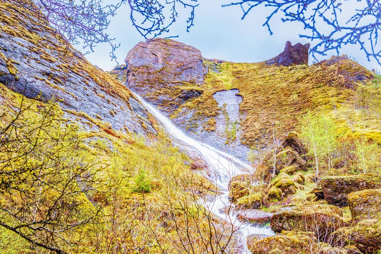 冰岛风采,山壁瀑布_图1-6