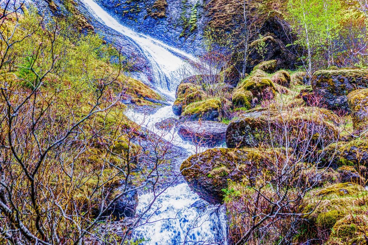 冰岛风采,山壁瀑布_图1-8