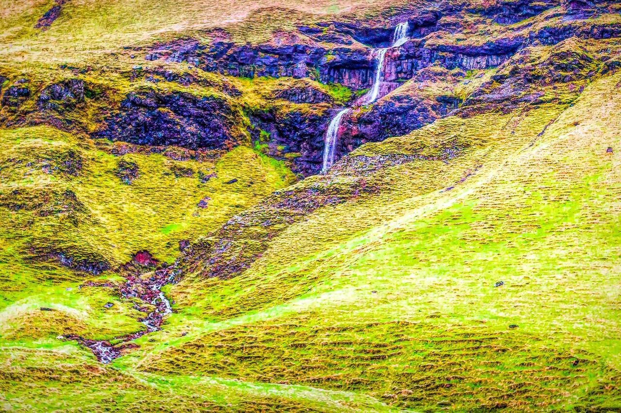 冰岛风采,山壁瀑布_图1-12