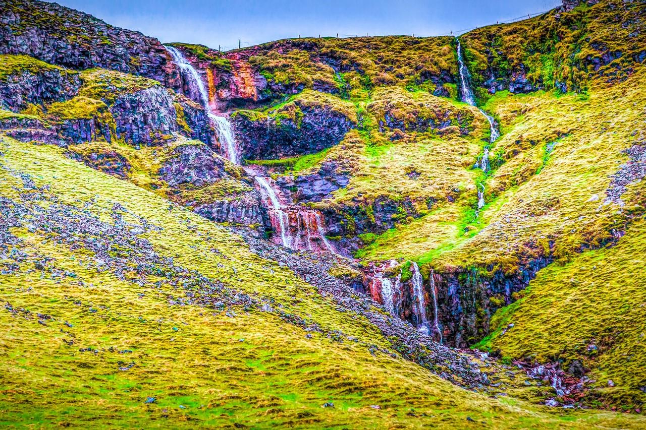 冰岛风采,山壁瀑布_图1-9