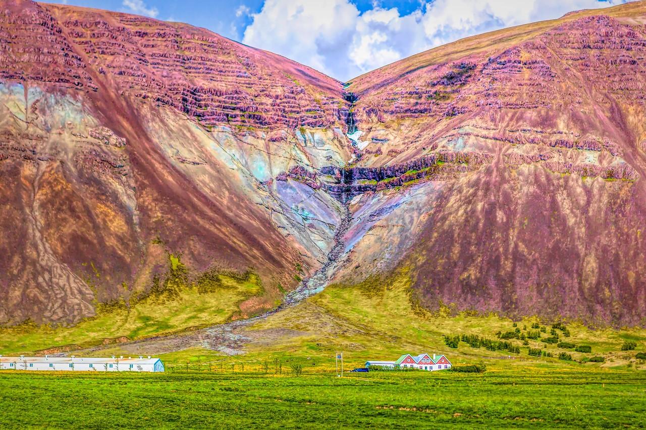 冰岛风采,山壁瀑布_图1-10