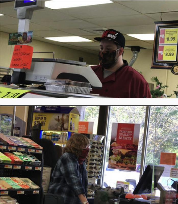 高娓娓美国疫情日记:美国乡村小镇如何防疫?口罩花花绿绿,餐馆只能外卖 ... ..._图1-7
