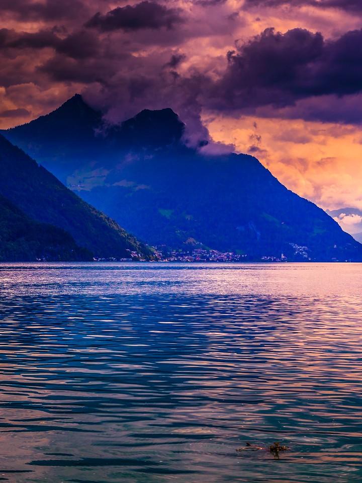 瑞士卢塞恩(Lucerne),浓浓的云彩_图1-10