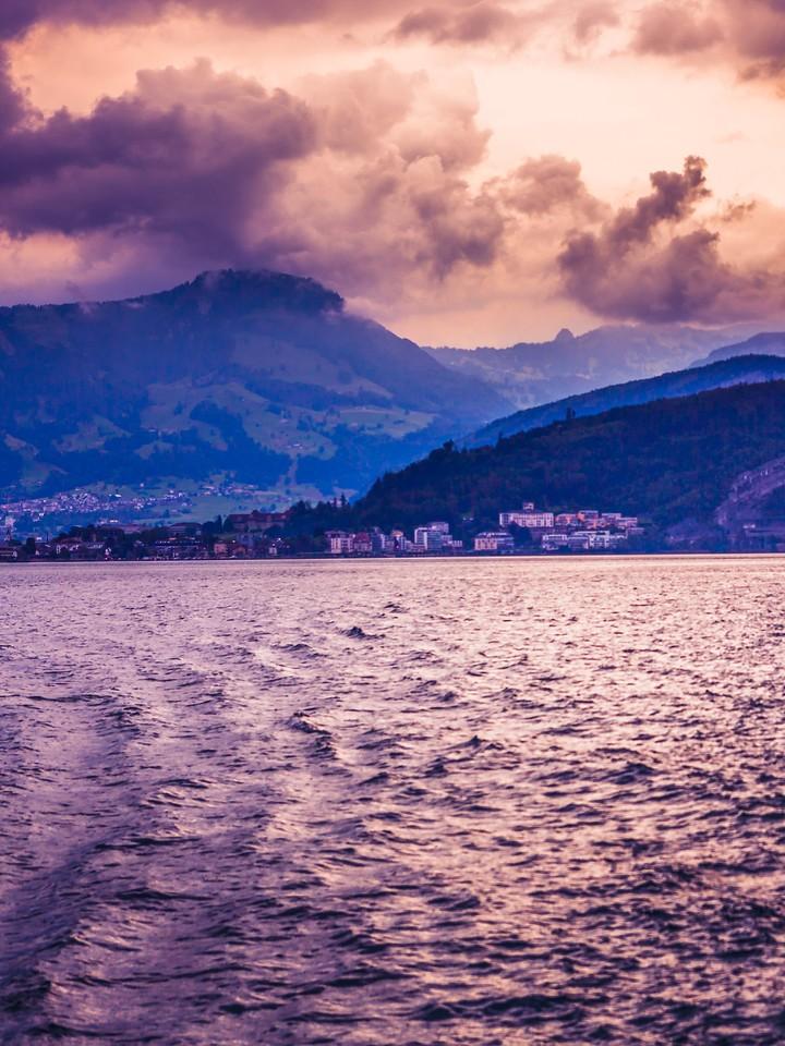 瑞士卢塞恩(Lucerne),浓浓的云彩_图1-8