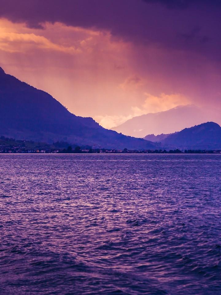 瑞士卢塞恩(Lucerne),浓浓的云彩_图1-12