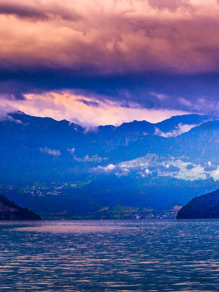 瑞士卢塞恩(Lucerne),浓浓的云彩_图1-13