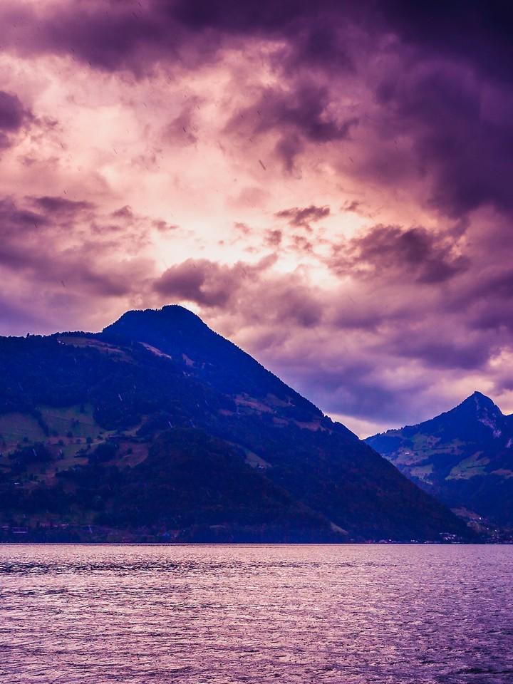 瑞士卢塞恩(Lucerne),浓浓的云彩_图1-11