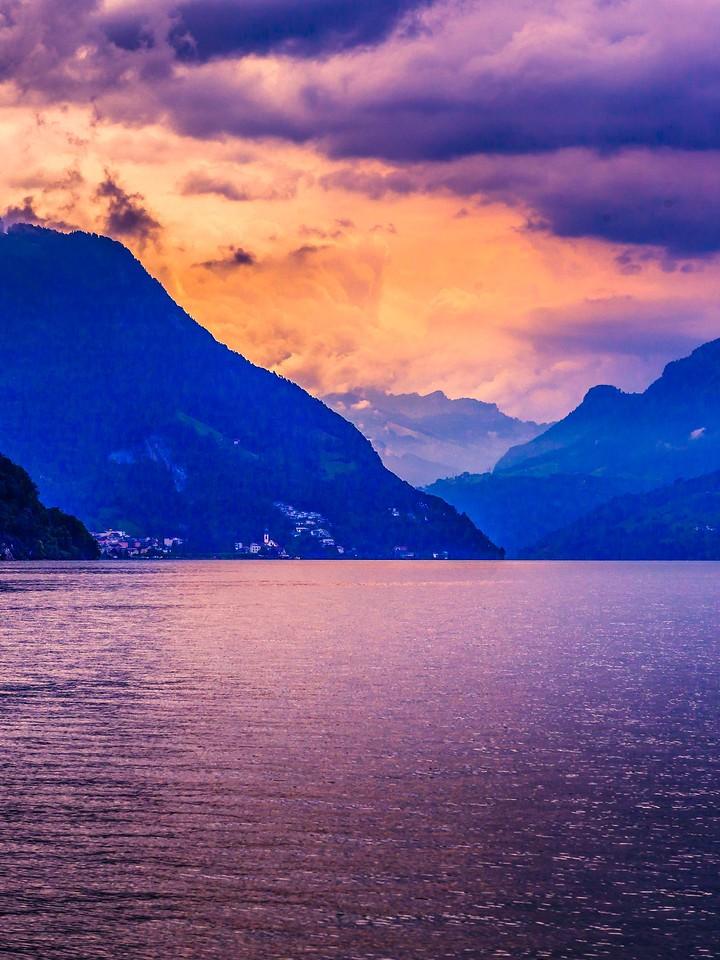 瑞士卢塞恩(Lucerne),浓浓的云彩_图1-7