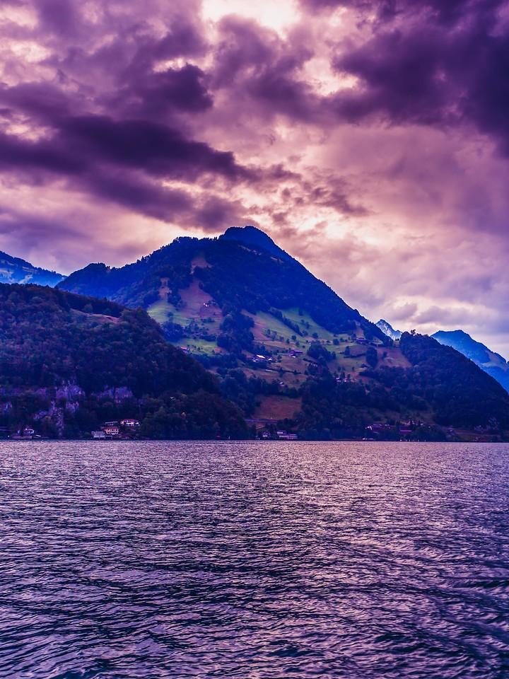 瑞士卢塞恩(Lucerne),浓浓的云彩_图1-3