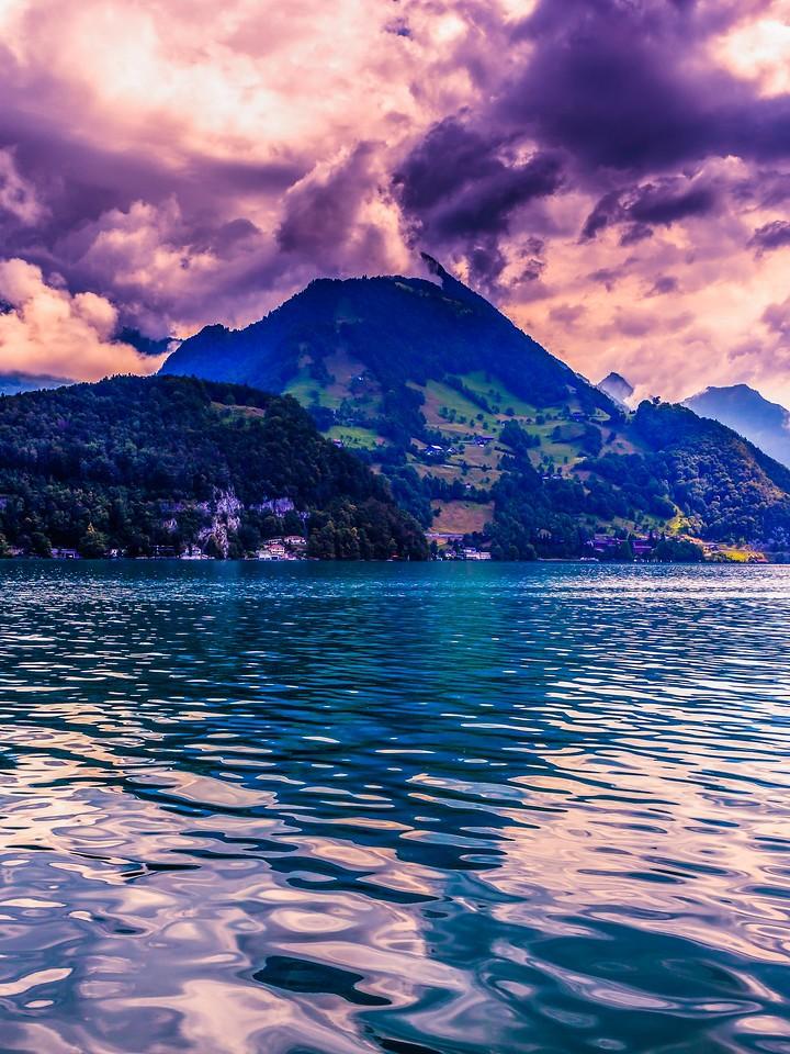 瑞士卢塞恩(Lucerne),浓浓的云彩_图1-9