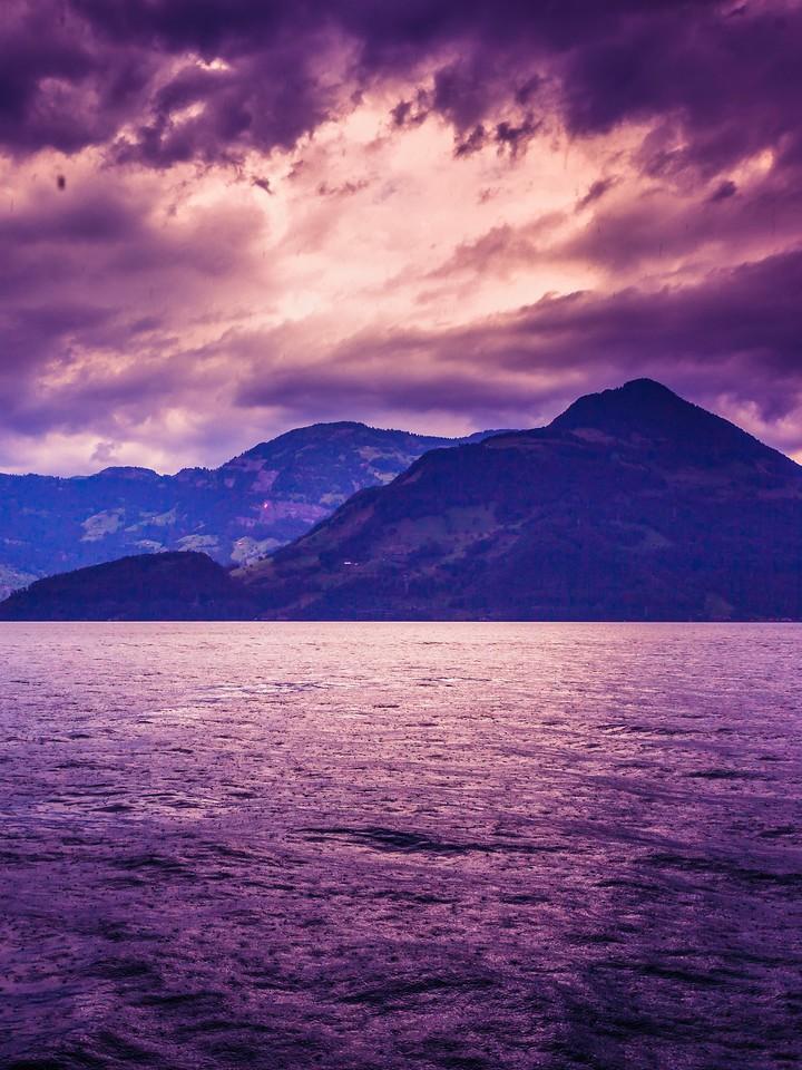 瑞士卢塞恩(Lucerne),浓浓的云彩_图1-5