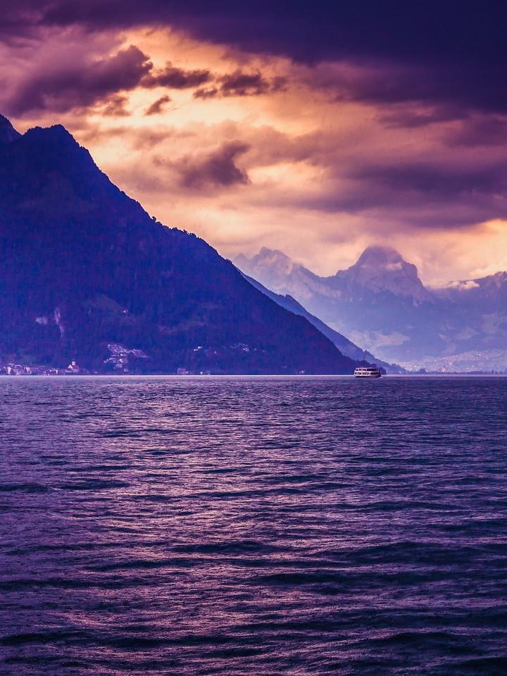 瑞士卢塞恩(Lucerne),浓浓的云彩_图1-15